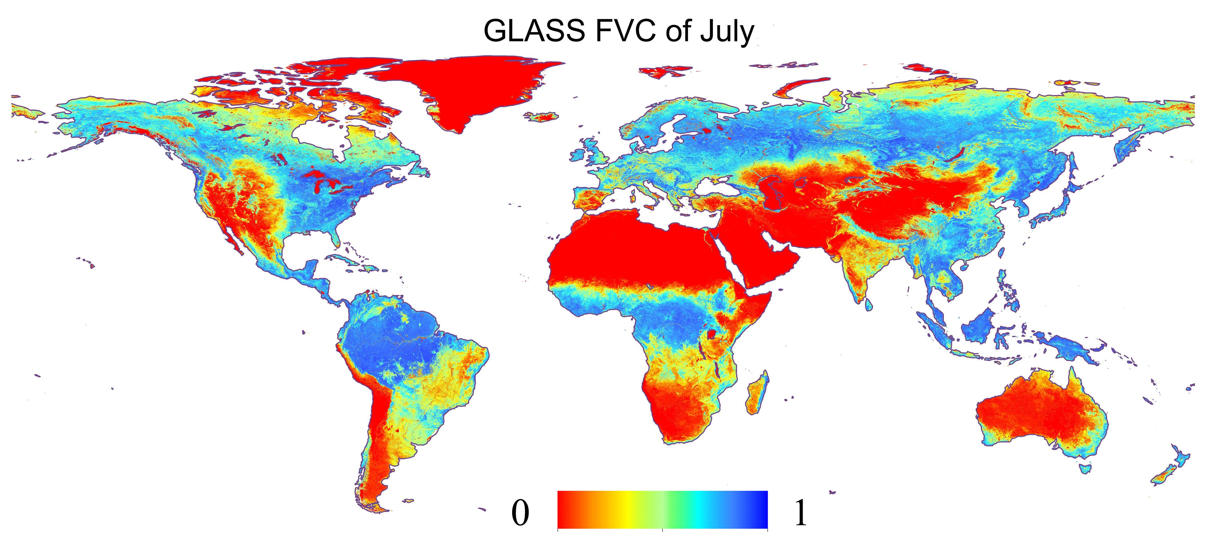 植被覆盖度FVC_modis(500m)
